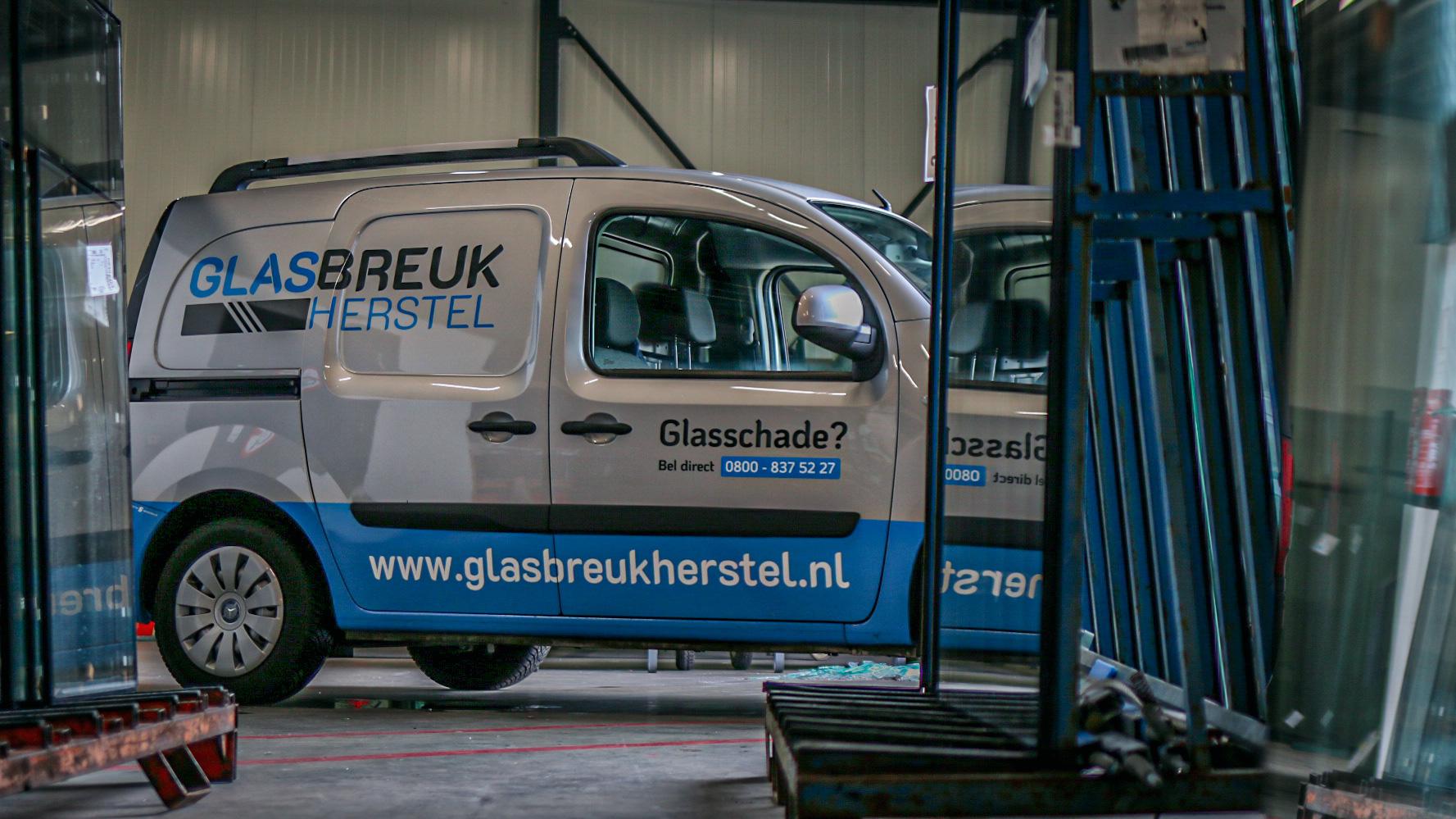 Voorraad glas Glasbreuk Herstel®